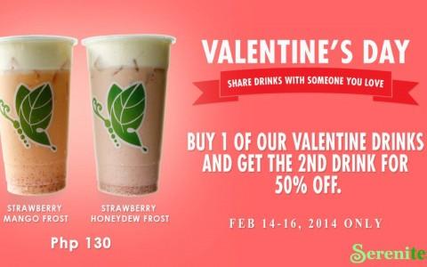 Serenitea Valentine's Day Promo February 2014