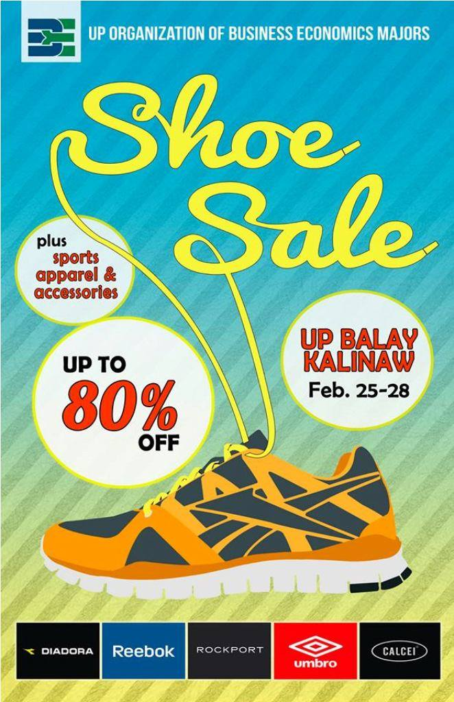 Shoe Sale @ UP Balay Kalinaw February 2014