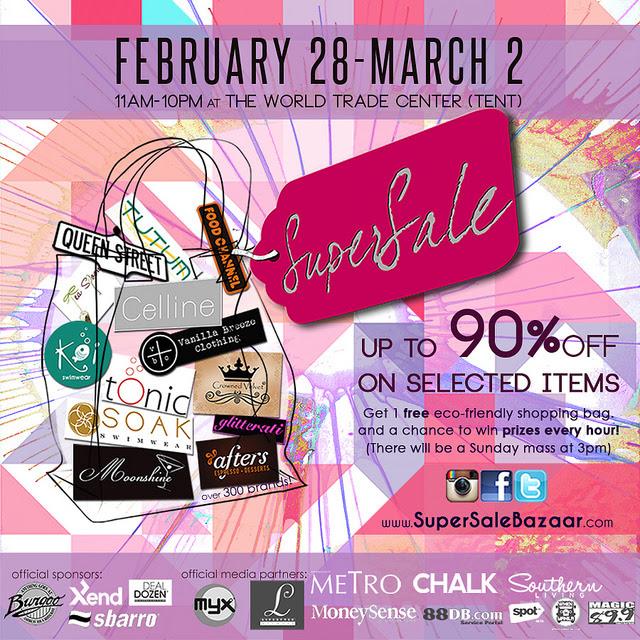 SuperSale Bazaar @ World Trade Center February - March 2014