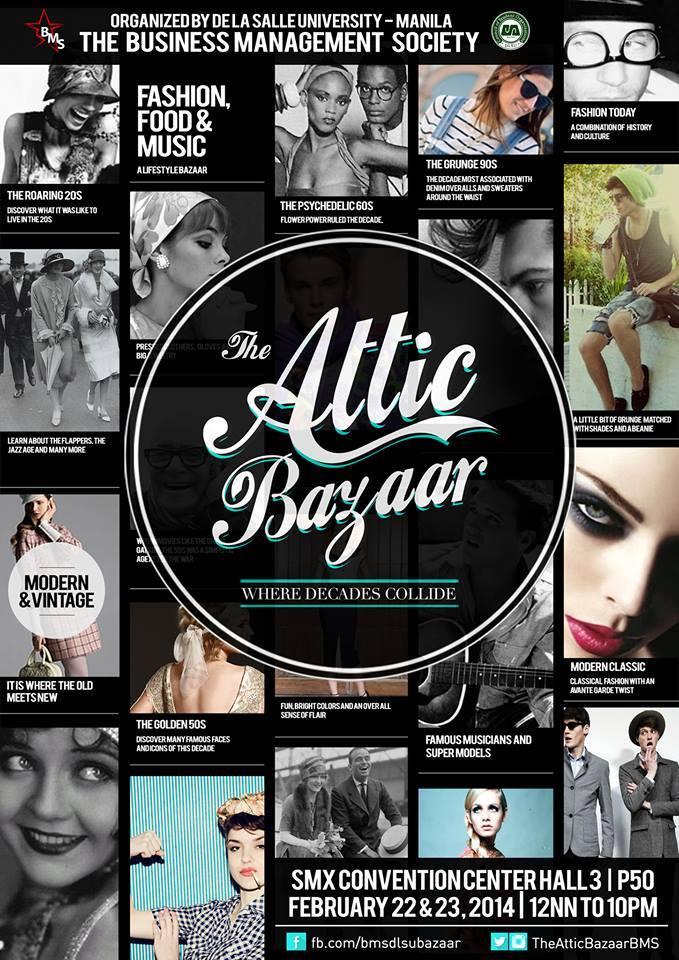The Attic Bazaar @ SMX Convention Center February 2014