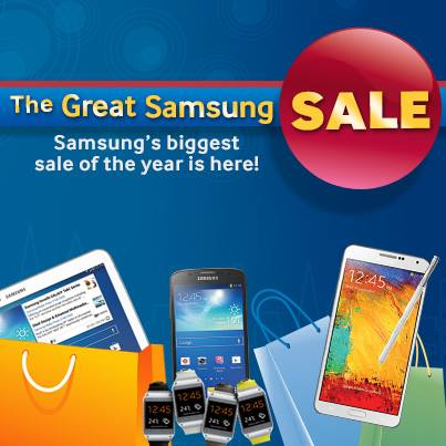 The Great Samsung Sale February - March 2014