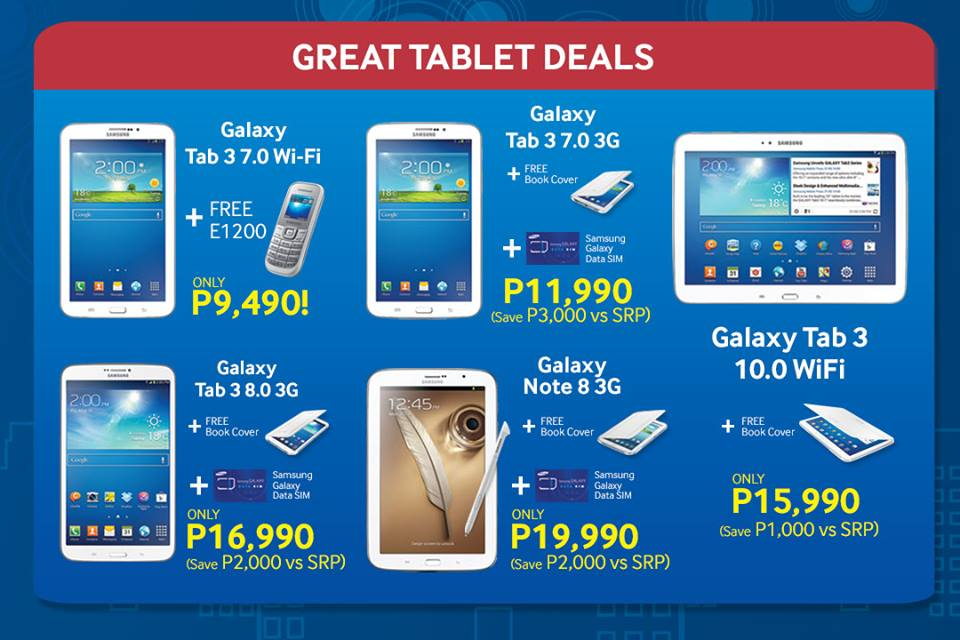 The Great Samsung Sale_Tablet Deals February - March 2014