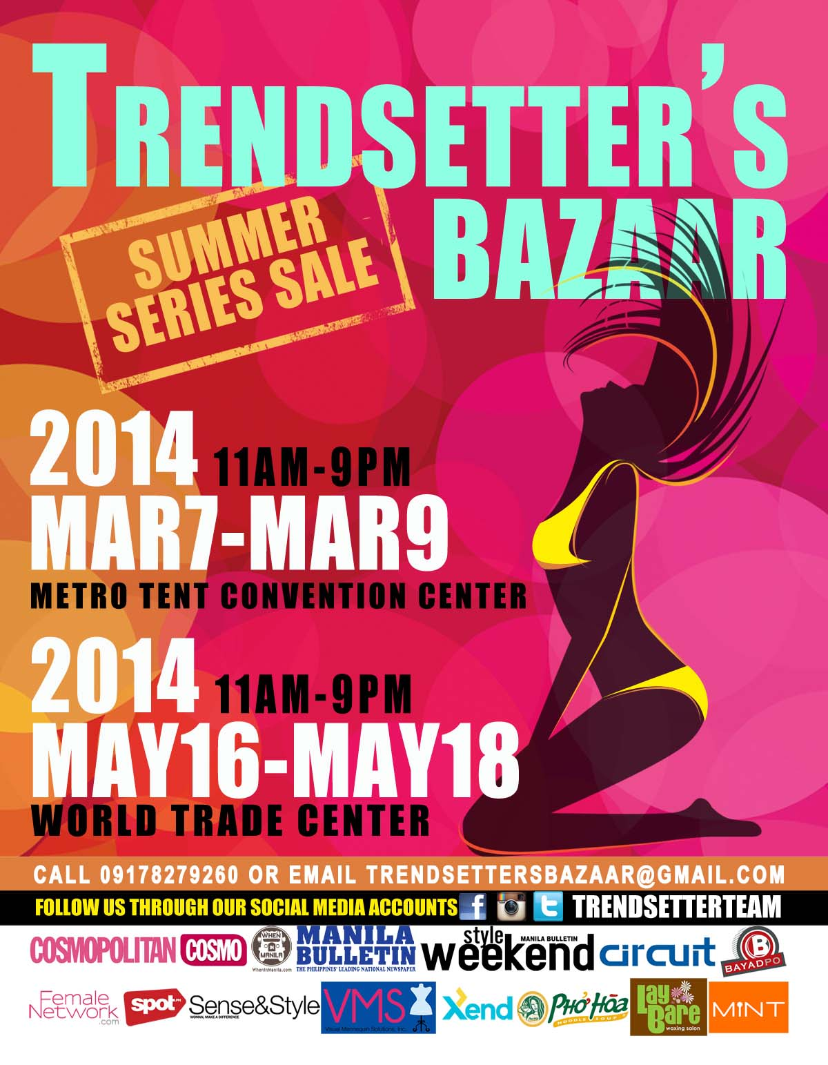 Trendsetter Bazaar @ Metro Tent Convention Center March 2014