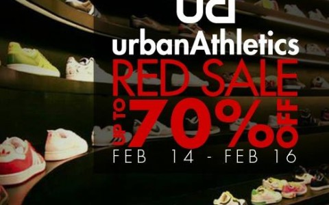 Urban Athletics Red Sale February 2014