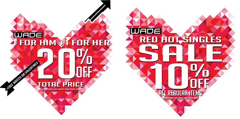 0c5f1d7c37 Tag  Red Hot Singles Sale. Wade Shoes Accessories Valentine s Day ...