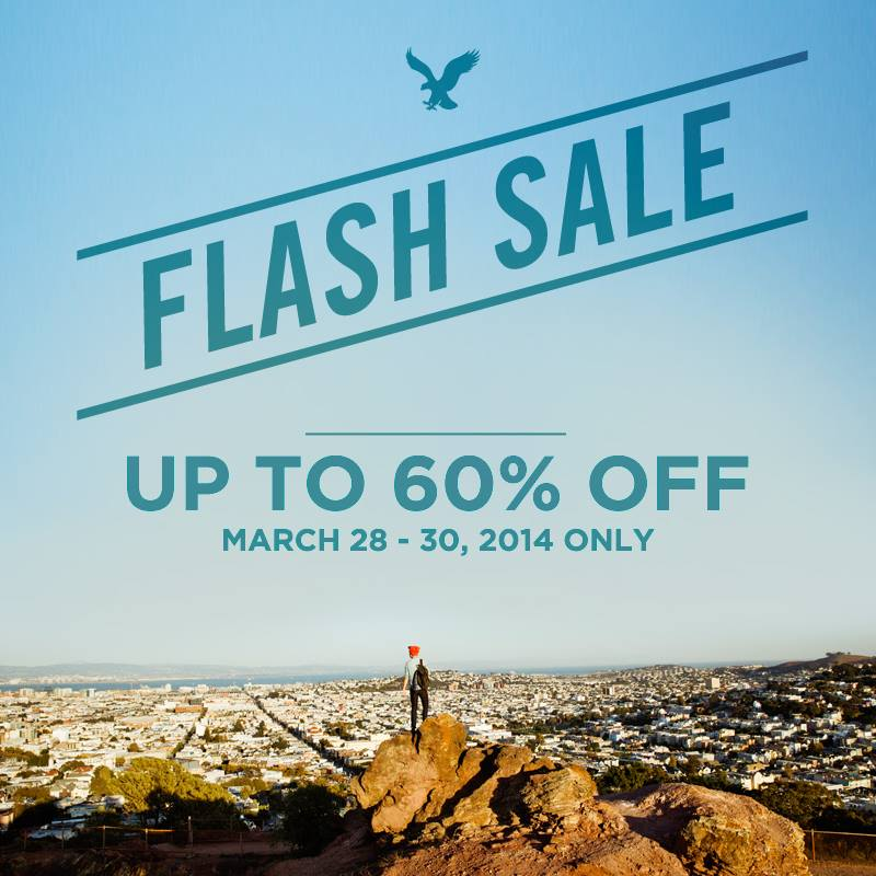 American Eagle Outfitters Flash Sale March 2014