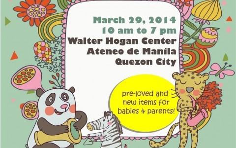Babypalooza Bazaar @ Ateneo De Manila University March 2014