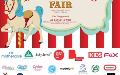 Cirque Du Bebe Baby and Kids Fair @ Bench Tower, BGC March 2014