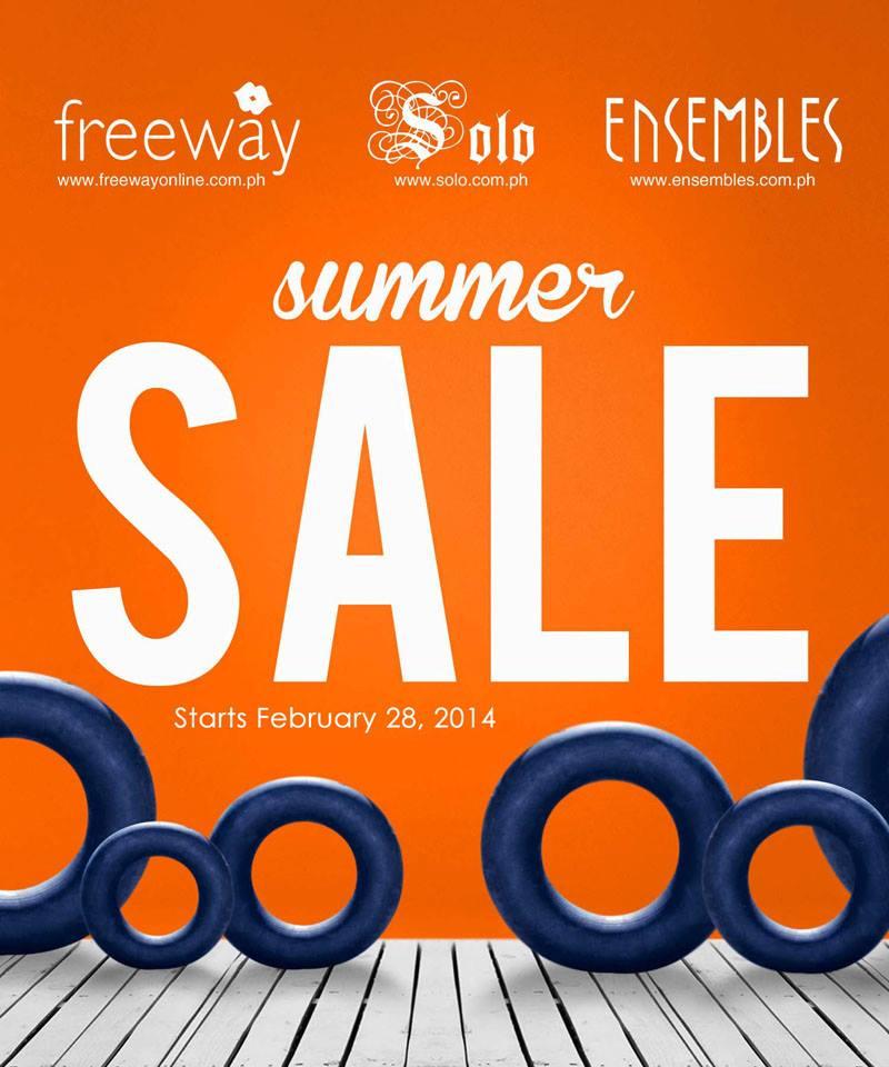 Freeway Ensembles Solo Summer Sale March 2014