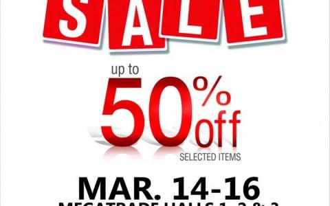 Homeworld Warehouse Sale @ SM Megatrade Hall March 2014