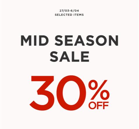 Mango Mid-Season Sale March - April 2014