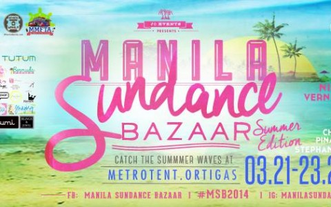 Manila Sundance Bazaar @ Metrotent, Metrowalk March 2014