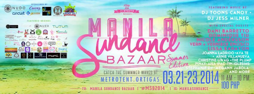 Manila Sundance Bazaar @ Metrotent, Metrowalk March 2014