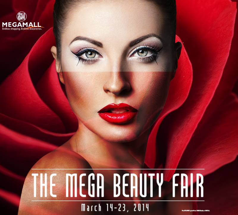 The Mega Beauty Fair @ SM Megamall March 2014