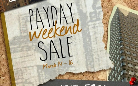 Memo Payday Weekend Sale March 2014