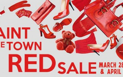 Alabang Town Center Paint The Town Red Sale March & April 2014