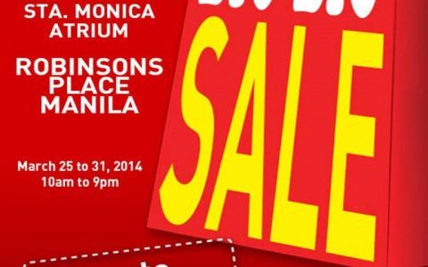 Puma Big Big Sale @ Robinsons Manila March 2014