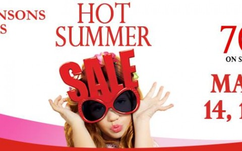 Robinsons Malls Hot Summer Sale March 2014
