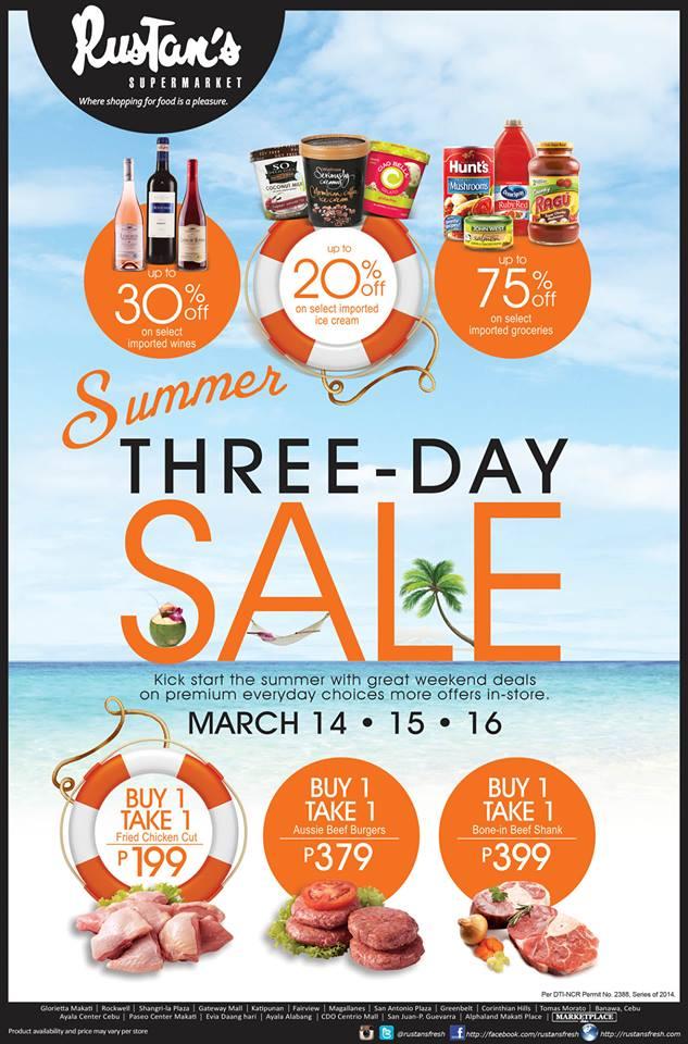 Summer Sale 2014 Summer Sale March 2014