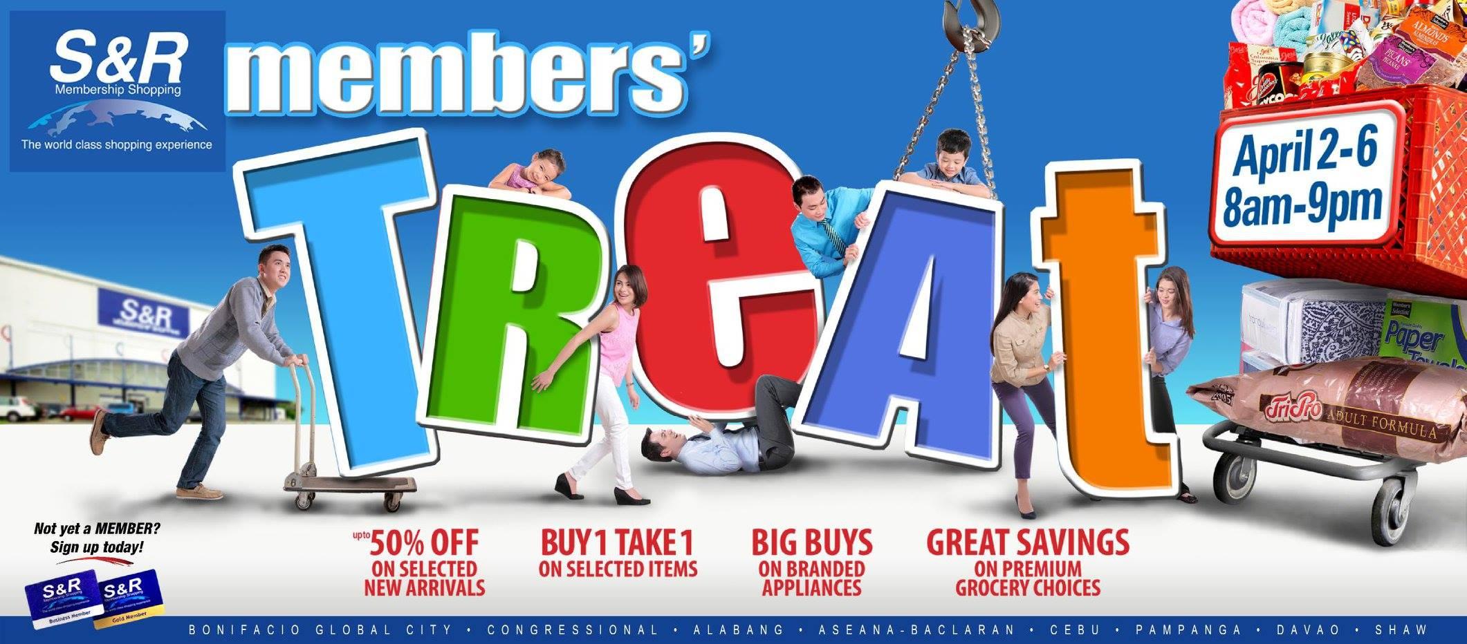 S&R Members Treat April 2014