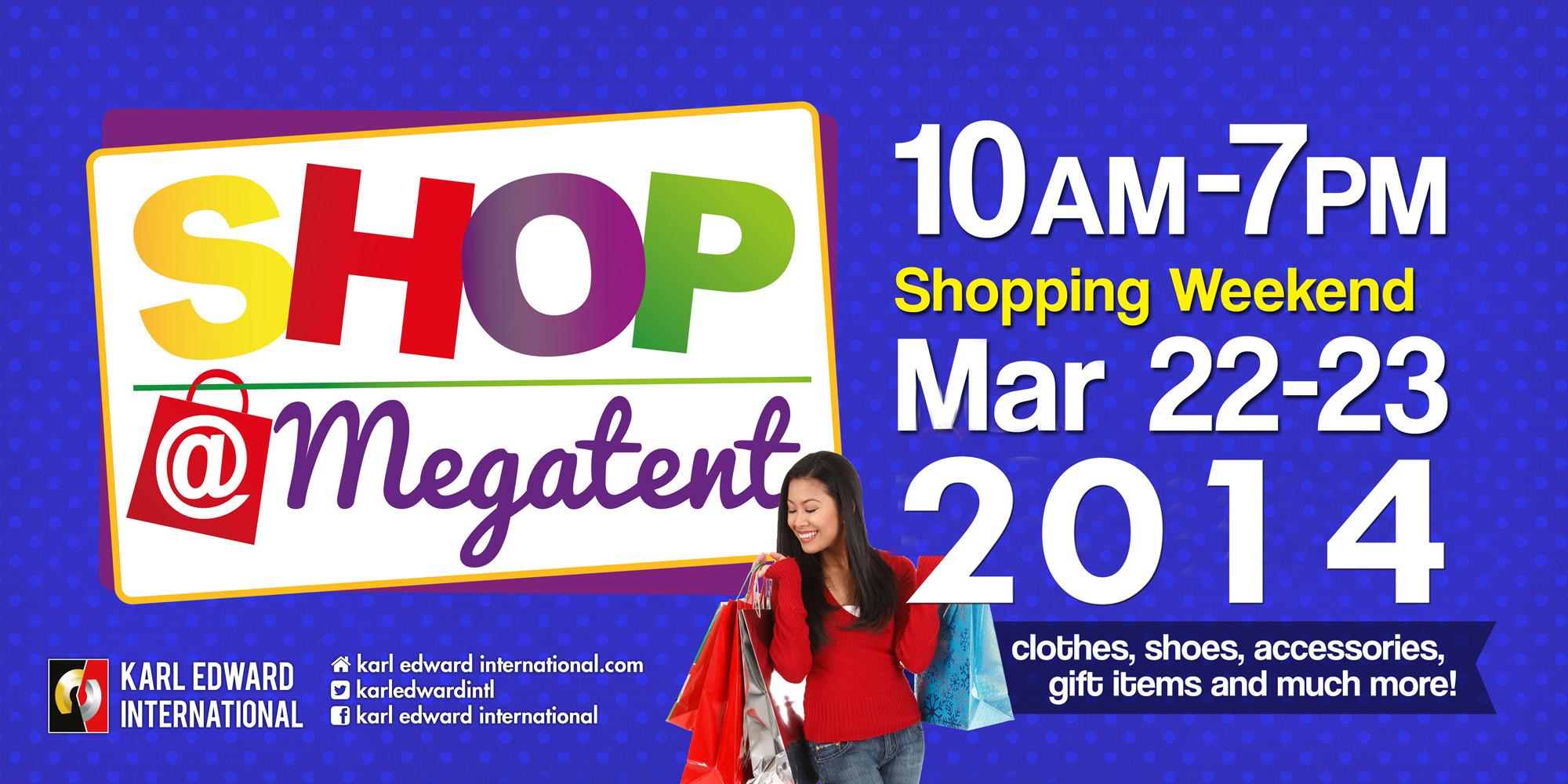 Shop @ Megatent March 2014
