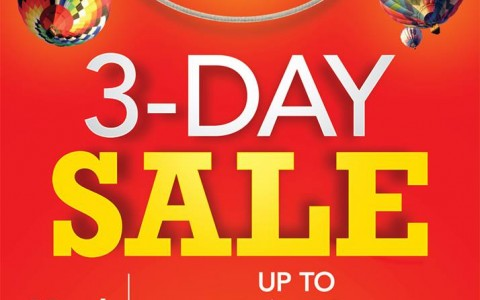Sta. Lucia Mall 3-Day Sale March 2014