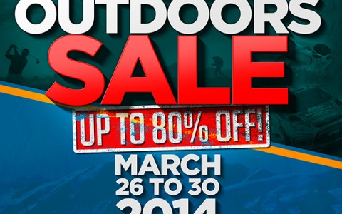 The Great Outdoors Sale @ Metrotent, Metrowalk March 2014