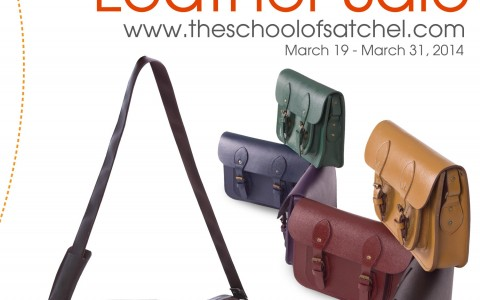 The School of Satchel The Ultimate Leather Sale March 2014