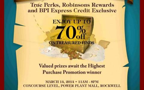 True Value A Private Sale @ Power Plant Mall March 2014