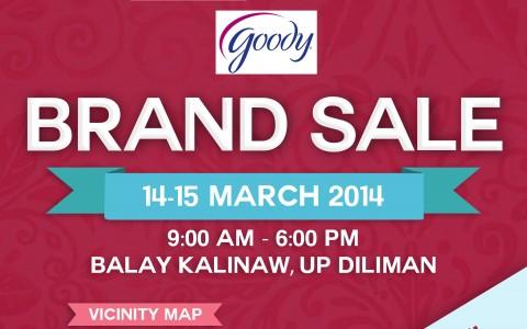 Wacoal & Goody Brand Sale @ UP Balay Kalinaw March 2014