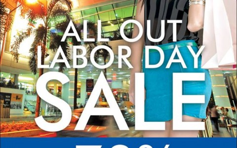 Araneta Center Labor Day Sale May 2014