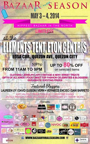 Bazaar For All Season @ Eton Centris May 2014