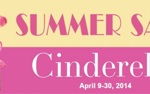 Summer Sale 2014 Cinderella Summer Sale April