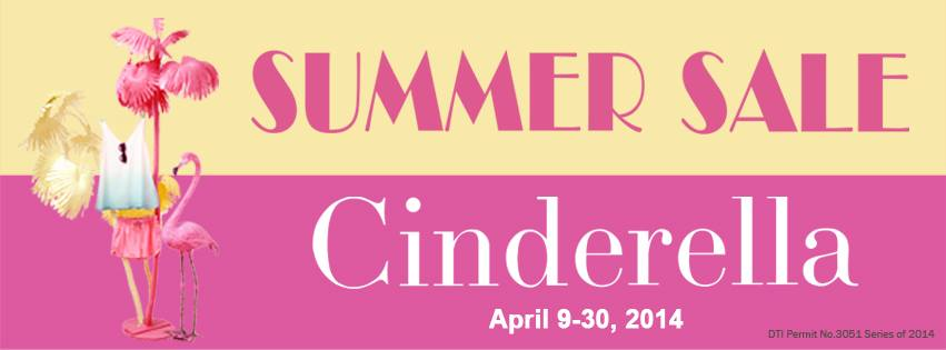 Cinderella Summer Sale April 2014