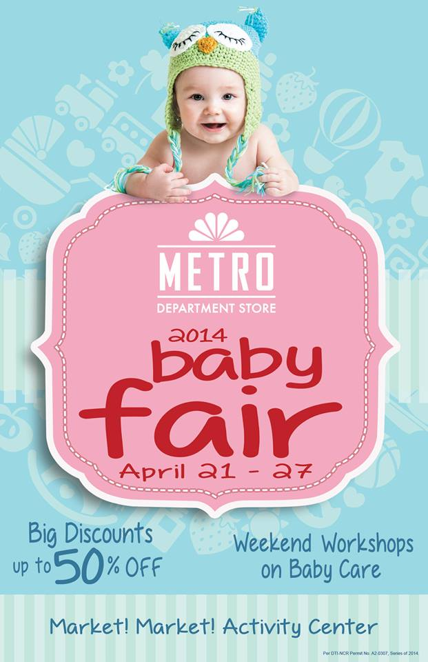 Metro Department Store Baby Fair @ Market Market April 2014