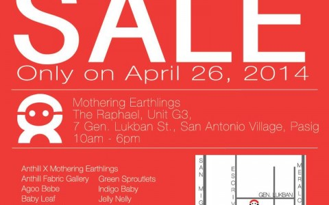 Mothering Earthlings Summer Sale April 2014