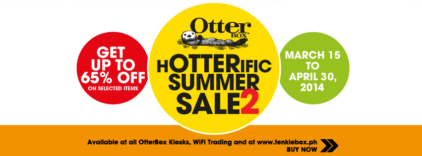 OtterBox Hotterific Summer Sale March - April 2014