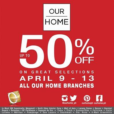 Our Home Sale April 2014
