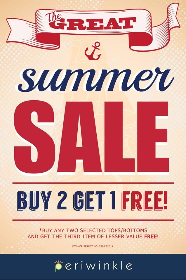 Periwinkle Summer Sale April 2014