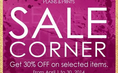 Plains & Prints Sale April 2014