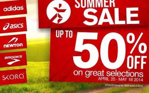 Runnr Summer Sale April - May 2014