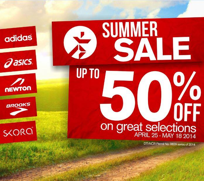 Runnr Summer Sale April - May 2014