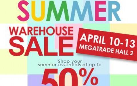 SM Kids Fashion's Summer Warehouse Sale @ SM Megatrade Hall April 2014