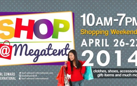 Shop @ Megatent April 2014