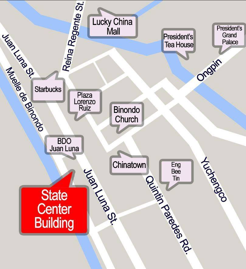 State Center Building Location Map