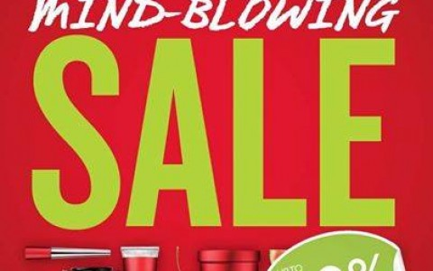 The Body Shop Mind Blowing Sale April - May 2014