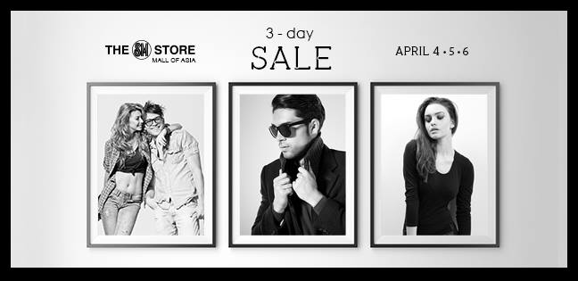 The SM Store 3-Day Sale April 2014