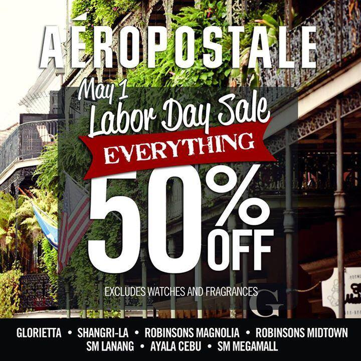 Aeropostale Labor Day Sale May 2014