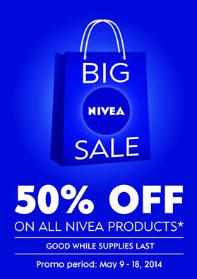 Big Nivea Sale May 2014