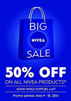 Big Nivea Sale May 2014